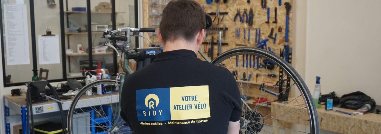 Photo de l'atelier Atelier vélo – Bagnolet / Porte de Montreuil