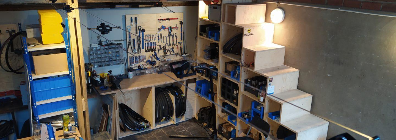 Photo de l'atelier Atelier réparation vélo – Paris 16ème